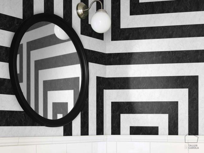 Mural Geométrico Negro 059633_08ran