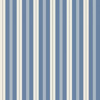 059700_56ran Papel Pintado Rayas Azul