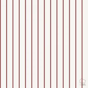 Papel Pintado Raya Rojo