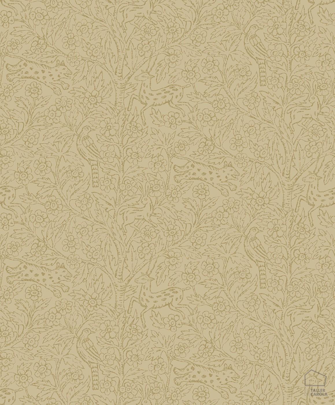 059fam2-ede827-32_1-papel-pintado-florecitas-animales-ocre-1