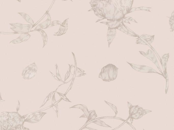 059floman586_03 Papel Pintado Flores Rosas