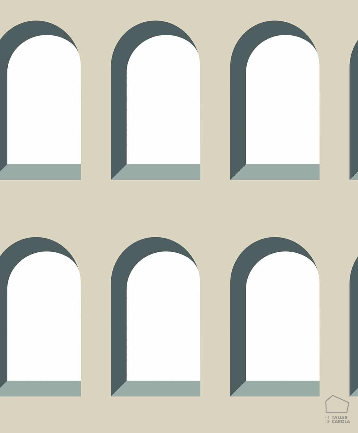 059hot-mar801-29-papel-pintado-geometrico-arcos-beige