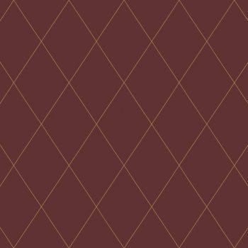 059oas436_84 Papel Pintado Geometrico Nordico Rombos Granate