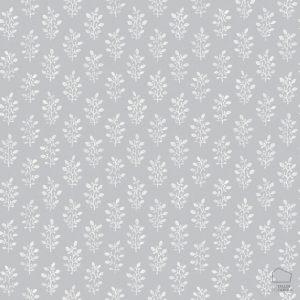 Papel Pintado BLO Hojitas Gris