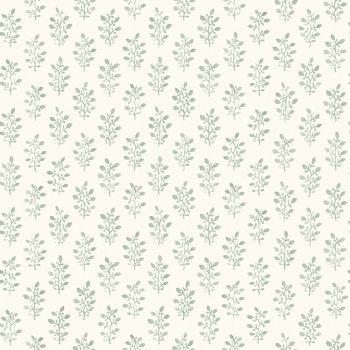 0693668_sim_blo Papel Pintado Vegetal Flores Verde