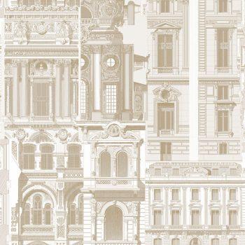 0696300072_tem Papel Pintado Arquitectura Marrón