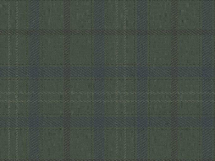 Papel Pintado Cuadros Escoceses Verde Musgo