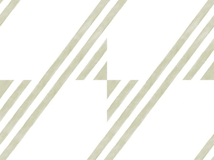 Papel Pintado GUA Geométrico Pistacho