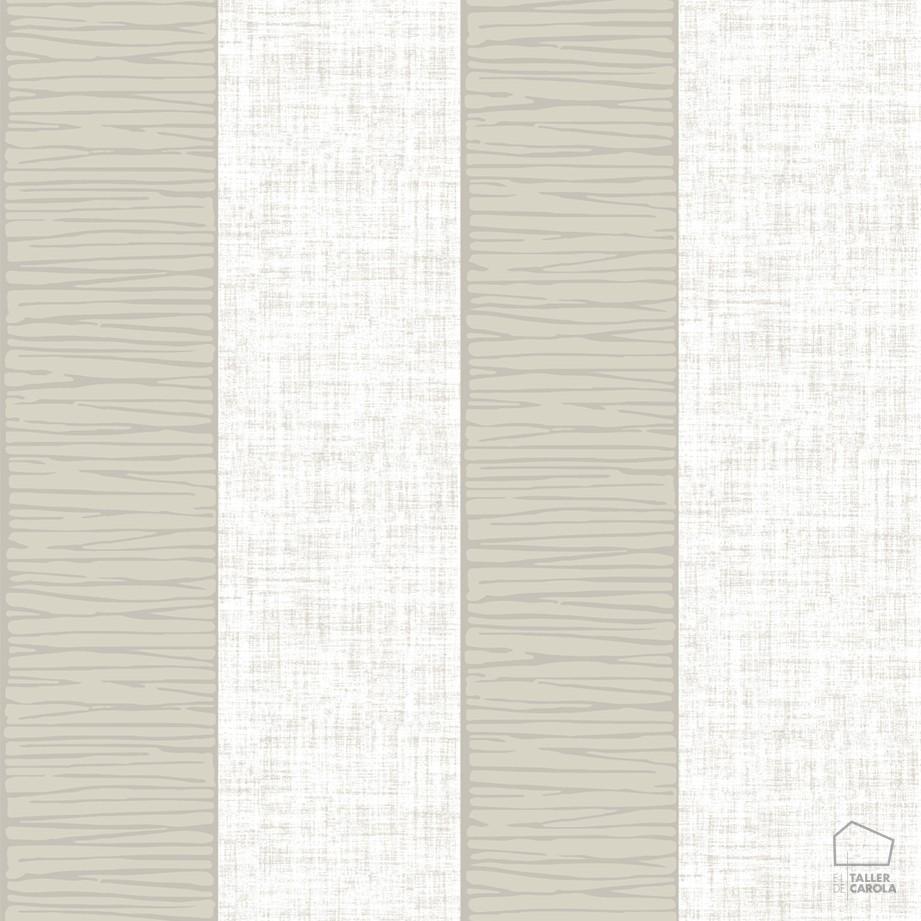 Papel pintado rayas texturas topo el taller de carola for Papel pintado de rayas verticales