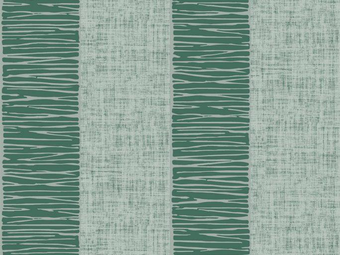069alf6600055 Papel Pintado Rayas Verdes