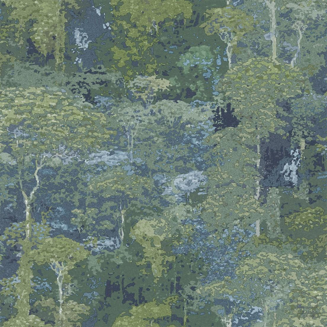 069cla6600021 Papel Pintado Vegetal Bosque Verde