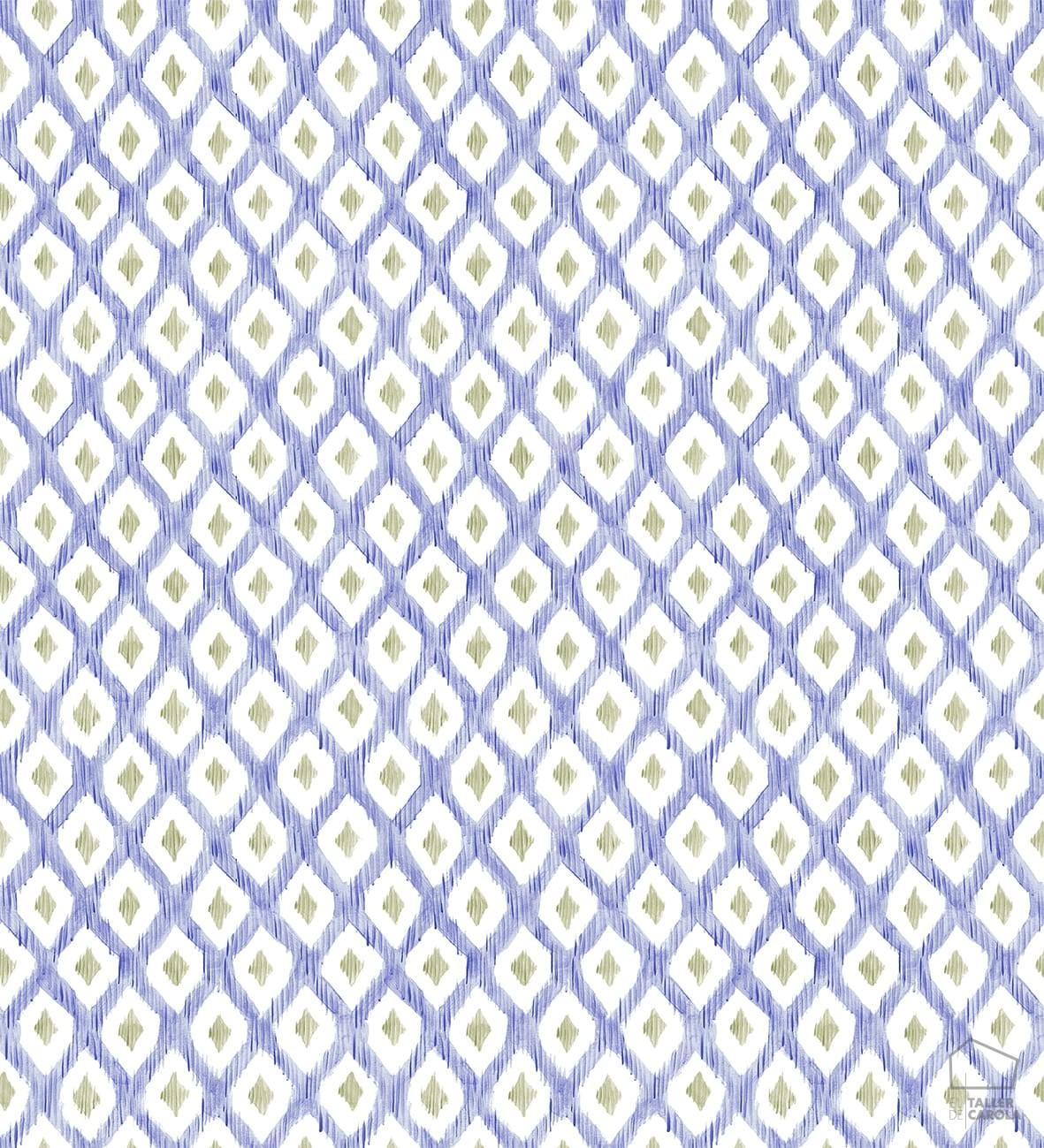 069ind_ani_pri_indYSP0121_papeles_pintados_estampados_ikat_azul_indigo