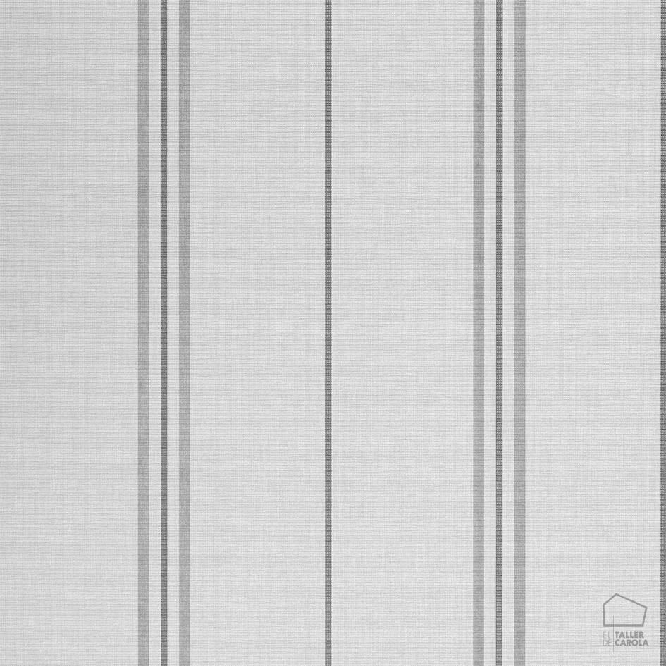Papel pintado ray rayas gris elegancia y calidez for Papel pintado rayas grises