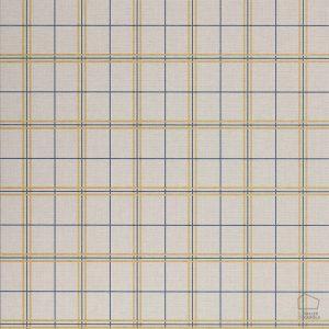 Papel Pintado TAR Cuadros Amarillo y Azul