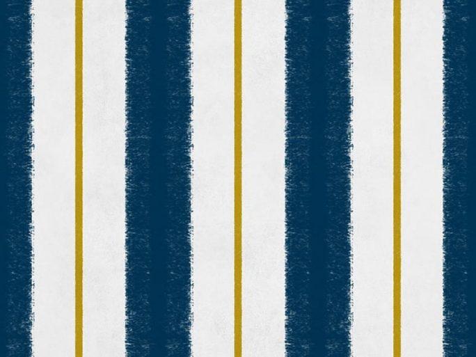 Papel Pintado RAC Rayas Azul
