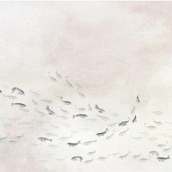 069koi6600081 Papel Pintado Animales Peces Natural Mural