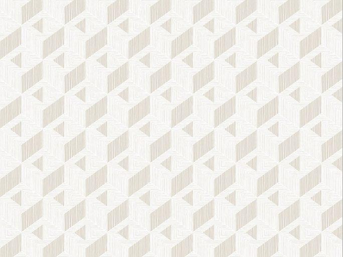 Papel Pintado INC Geométrico Beige