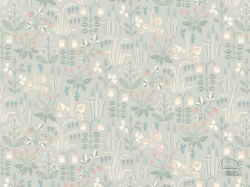 Papel Pintado Nórdico Flores Gris 079inb-stra7216