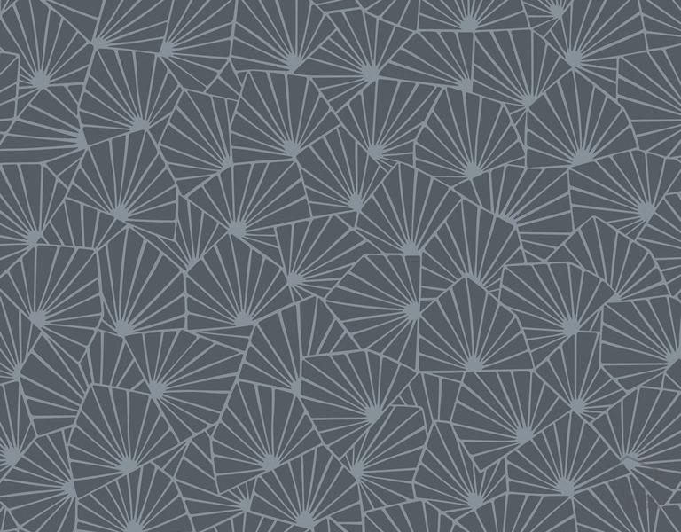 079stj1467 Papel Pintado Geométrico Azul