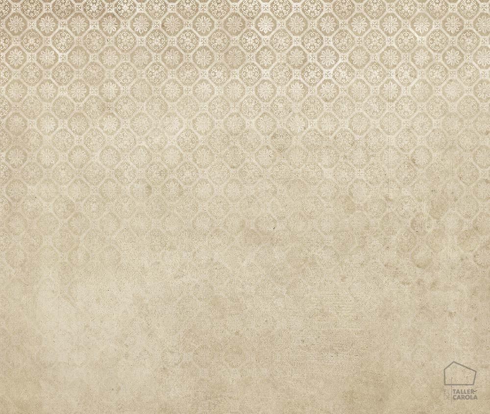 080jou1022_3 Mural Azulejos Beige