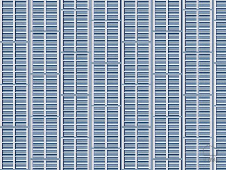 Papel Pintado IXE Ventana Azul