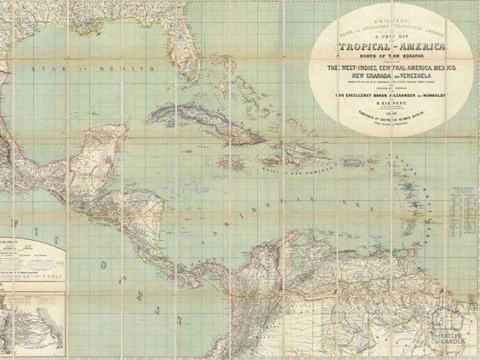 Mural Mapa Antiguo América 080mapr11381