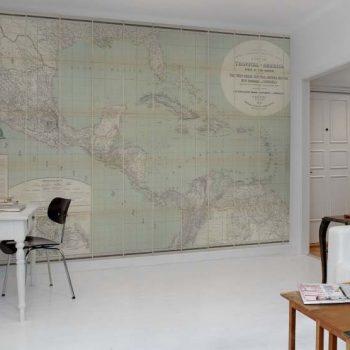 080mapr11381 Papel Pintado Mural Mapas