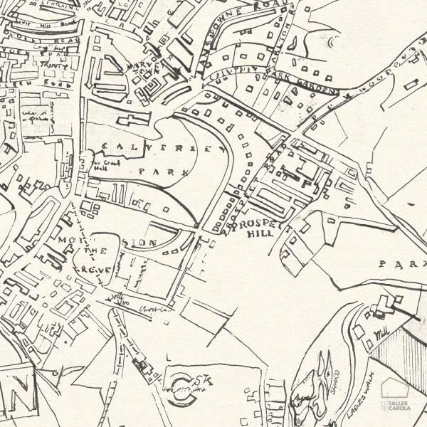 080mapr13361 papel pintado mural mapas el taller de carola - Papel pintado mapa ...