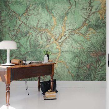 080mapr13771 Papel Pintado Mural Mapas