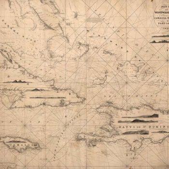Mural mapa antiguo navegaci n estilo vintage para tus - Papel pintado mapa ...