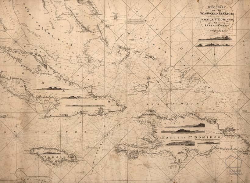 080mapr13791 papel pintado mural mapa antiguo navegaci n - Papel pintado mapa ...