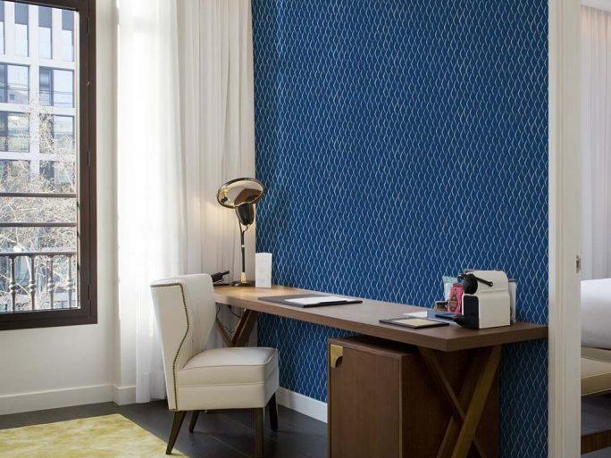 080med2501_3 Papel Pintado Textura Escamas Fondo Azul