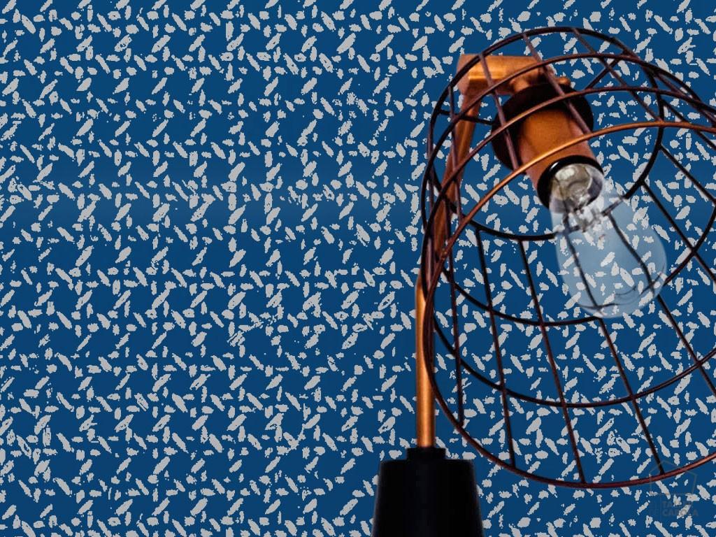080med2502_3 Papel Pintado Textura Enea Fondo Azul