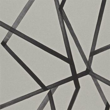 083110886mom Papel Pintado Geométrico Negro