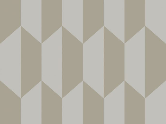 Papel Pintado PET Geométrico Oro