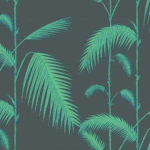Papel Pintado Palmeras Verde
