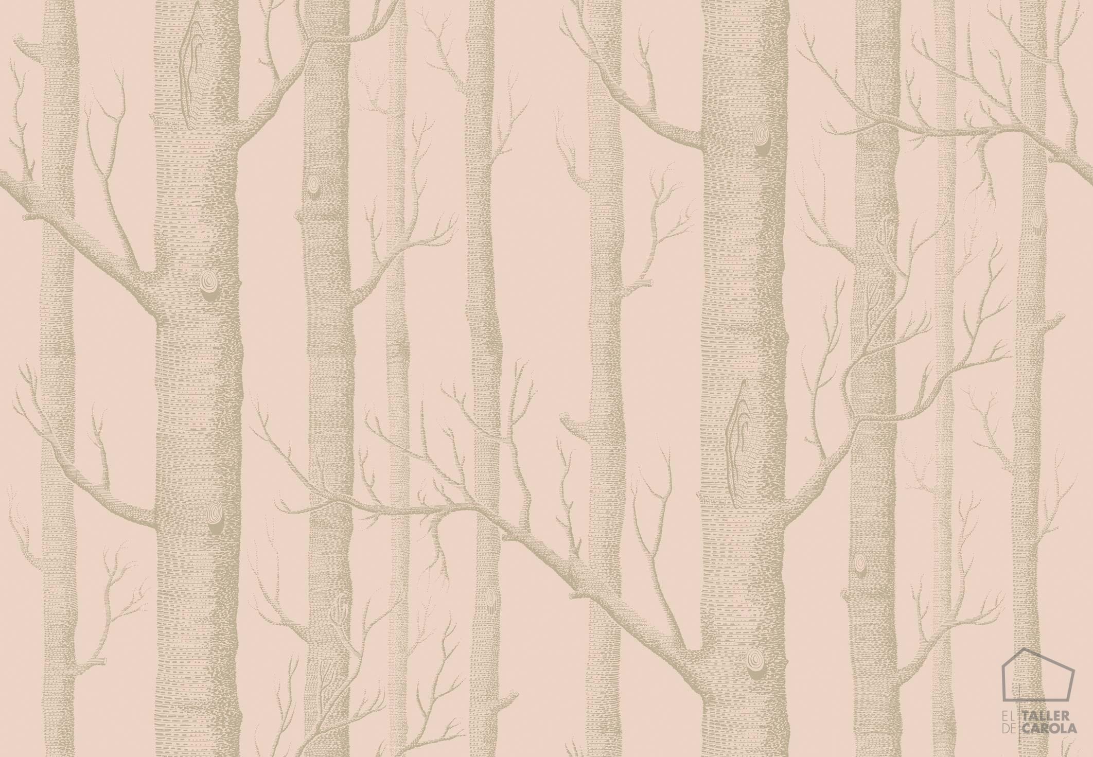 083icowoo103-5024-papel-pintado-arboles-bosque-rosa