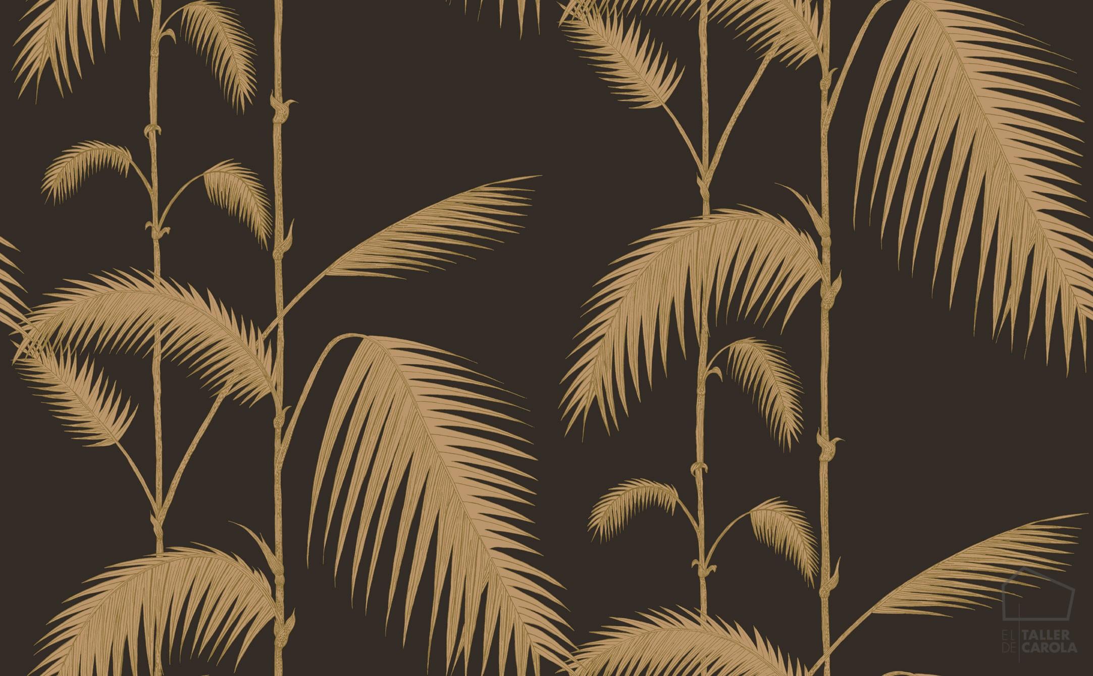 083pal-lea-66-2014-papel-pintado-marron-hojas-de-palmeras-vintage