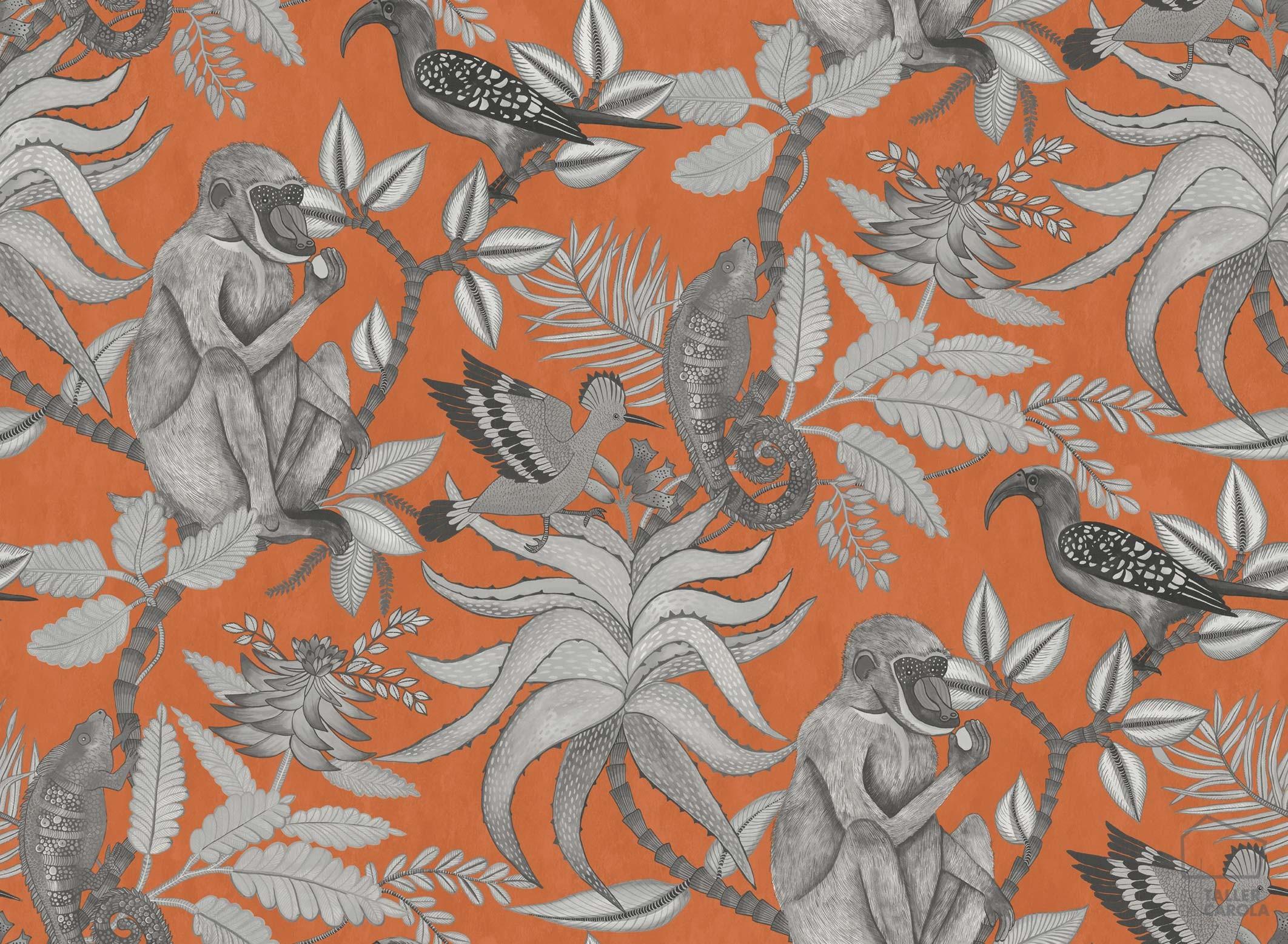 083sav109-1001-papel-pintado-monos-vegetal-naranja