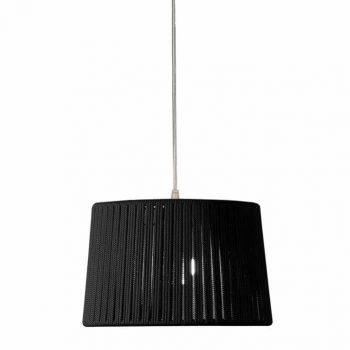 084c24800_30 Lámpara Colgante Artesanal Cuerda Trenzada