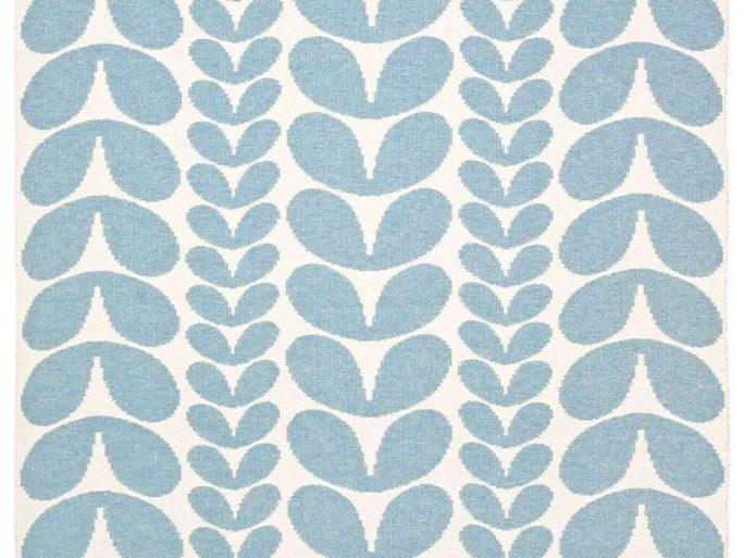 085karblu1371002 Alfombra Sintética KAR Azul