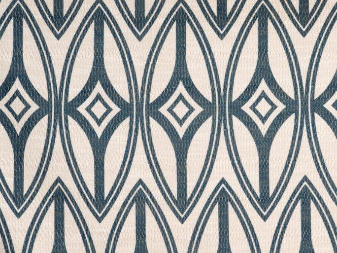 092tf1175-060-130 telas geométrico étnico azul