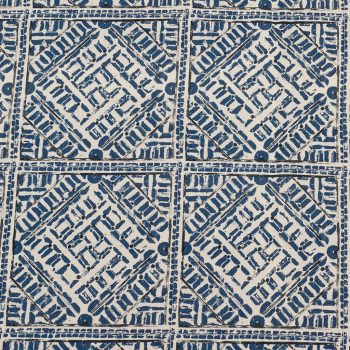 092eth_kum_tf1230_006_150 Tela Étnica Estampado Geométrico Azul