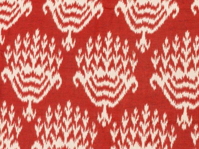 092eth_te0746_001_320 Tela Étnica Estampado Rojo
