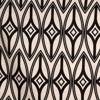 092tf1175-009-130 tela estampado geométrico negro