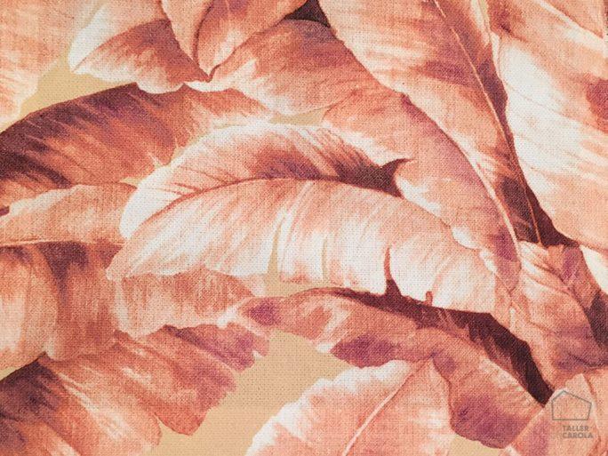 093amajun08 Tela Vegetación Naranja