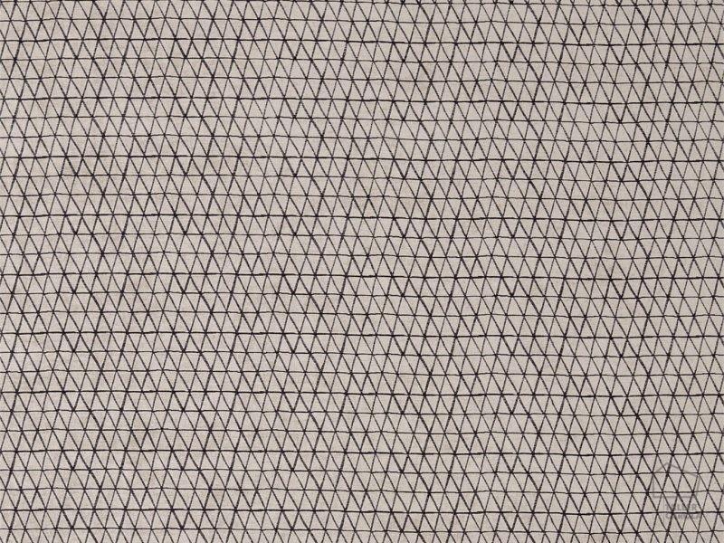 095132059_miy_tom Telas Geométrico Triángulos Negro