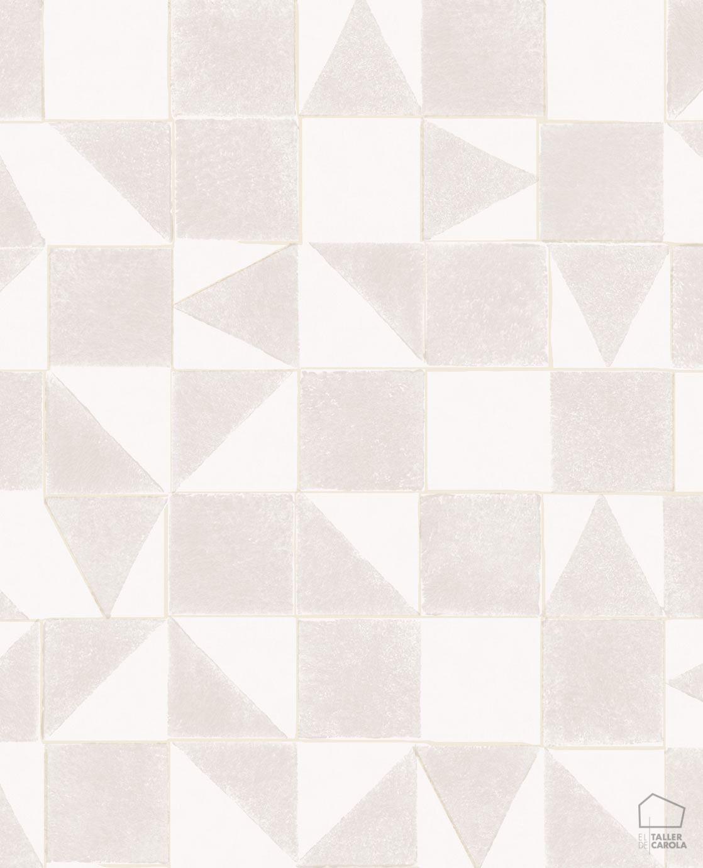 09min399090-papel-pintado-geometrico-azulejo-desgastado-beige