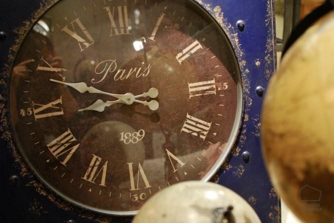13reloj de pared estilo industrial vintage el taller de for Reloj pared estilo industrial