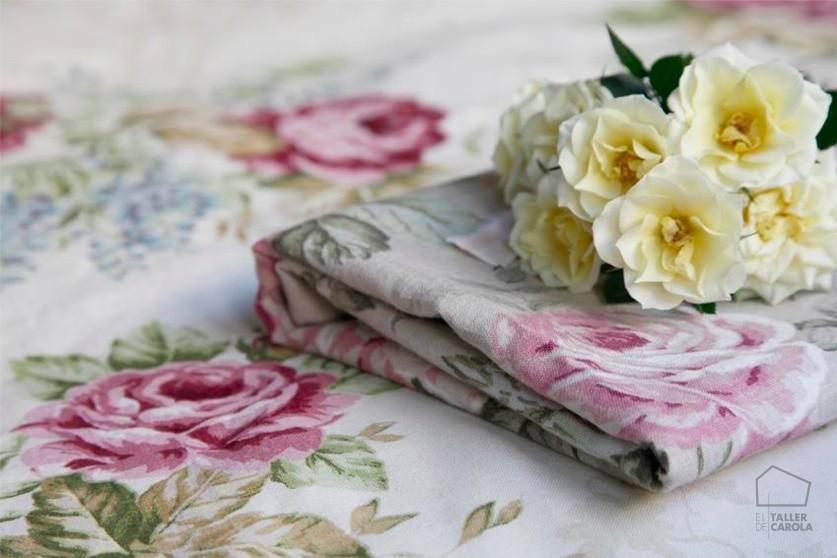 Telas de flores para tapizar y confeccionar cortinas - Telas para tapizar cabeceros ...